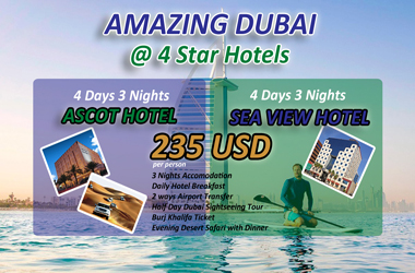 hot offer amazing dubai