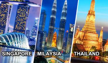 singapore, malaysia, thailand visa services