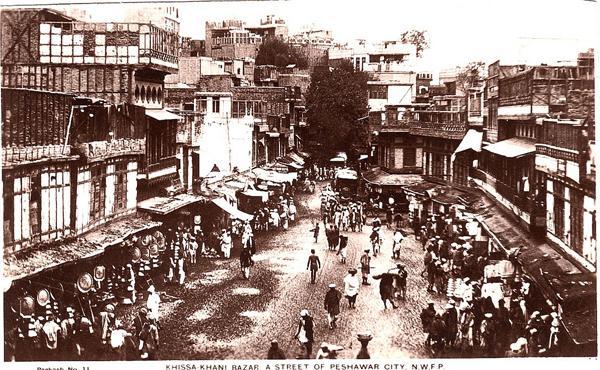 Peshawar history