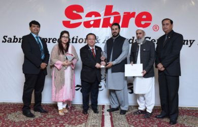 Sabre Best Supporting Agent Award