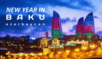 New Year in Baku, Azerbaijan