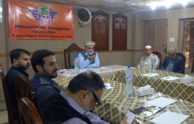 Travel Agents Association Khyber pakhtunkhwa Executive body meeting.