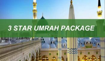 3 Star Umrah Package