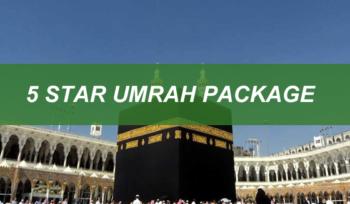 5 Star Umrah Package
