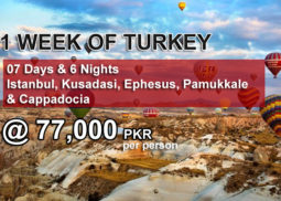 1 week turkey package