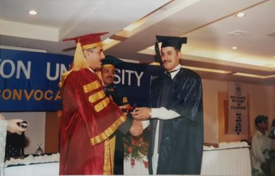 MBA Convocation ceremony in university Peshawar