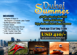 Dubai Summer Flash Offer