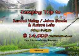 Camping trip to Kumrat Valley