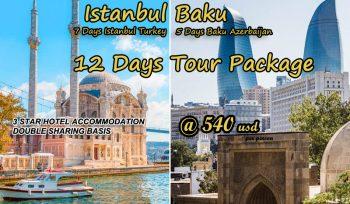 Istanbul Baku Tour Package