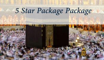 Umrah 5 Star Package