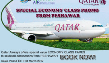 SPECIAL ECONOMY CLASS PROMO FROM PESHAWAR