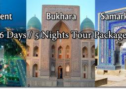 taskent 6 days 5 nights tour package