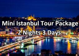 mini istanbul tour