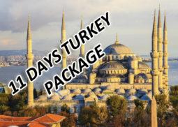 11 days turkey package