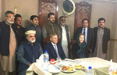 British High Commission Delegation Meet Travel Agent Association KP