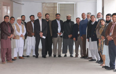 All Pakistan national and international airlines joint meeting in TAAK office.