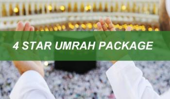 4 Star Umrah Package