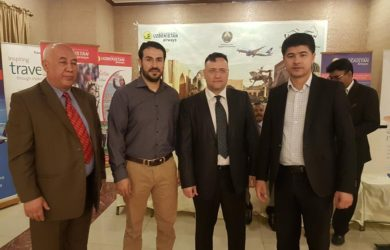 Meeting with Uzbekistan Embassy staff to promote Tourism