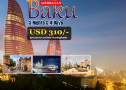 Azerbaijan, Baku 3 Nights 4 Days Tour
